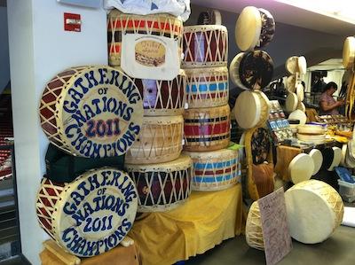 native-powwow-drums