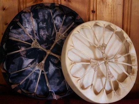 powwow-hand-drums